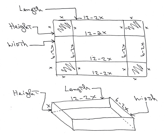 algebra how to find width