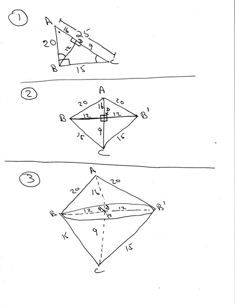 Solution a right trianglewhose sides are 15 cm and 20 cm is since you are dealing in cm then your answer would be volume 3768 cubic cm surface area 13188 square cm ccuart Choice Image