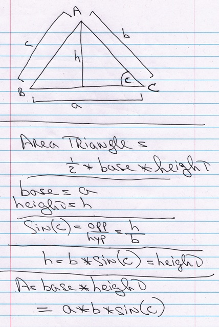Solution How Do I Find The Area Of An Iscoseles Triangle When I39