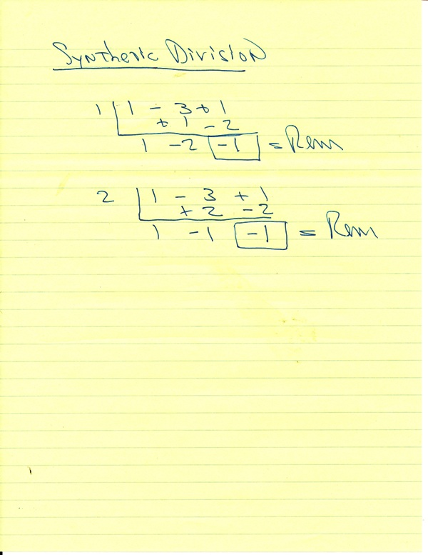 math worksheet : solution if x^2  3x  1 is ided by x  2c the remainder is  : Synthetic Division Worksheet