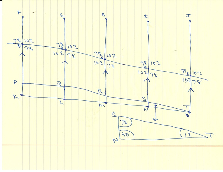 Solution you are constructing a railing to place on a ramp for your diagram 2 shows the angle relationships that are formed ccuart Choice Image