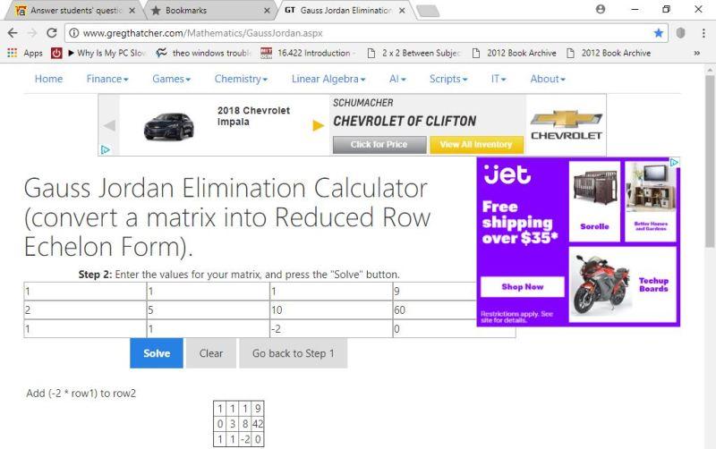 the results from my use of this calculator are shown below:
